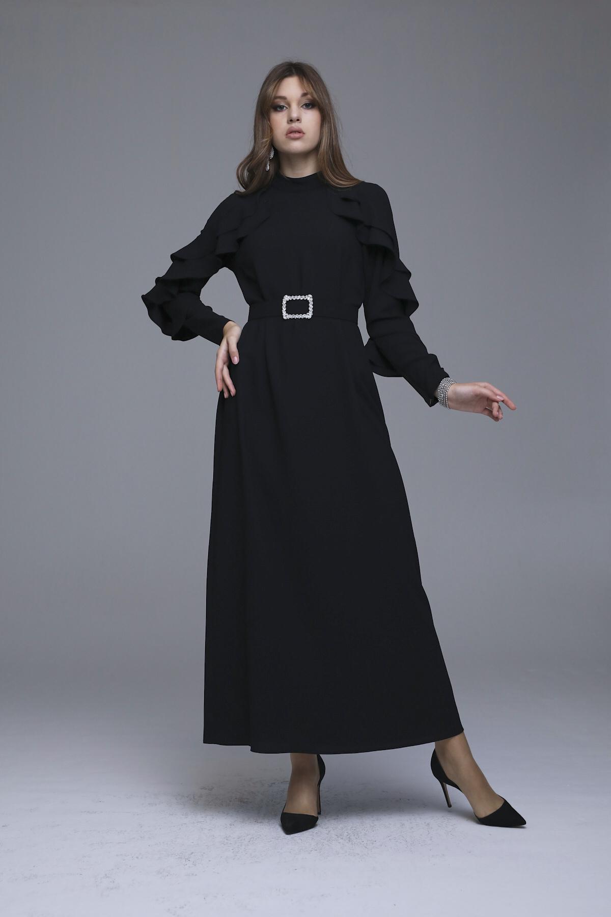 Abronıa Elbise Siyah 3228w21