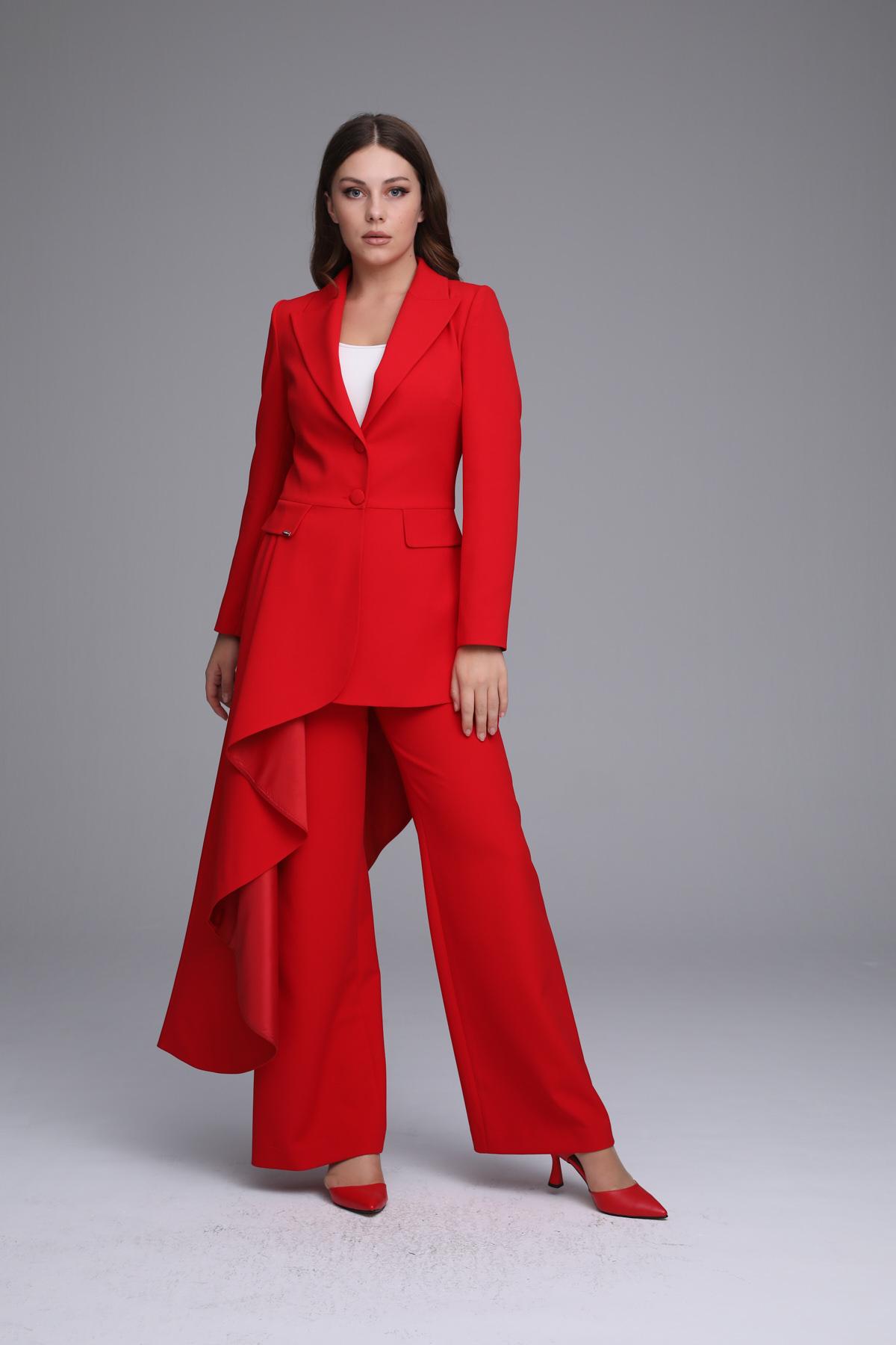 Alegre Ceket Kırmızı 4227w21