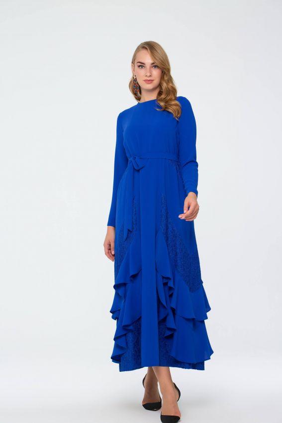 Bihterin Elbise Saks 3025W19