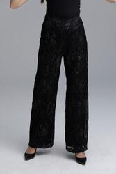 Bordado Pantolon Siyah 5213w21 - Thumbnail