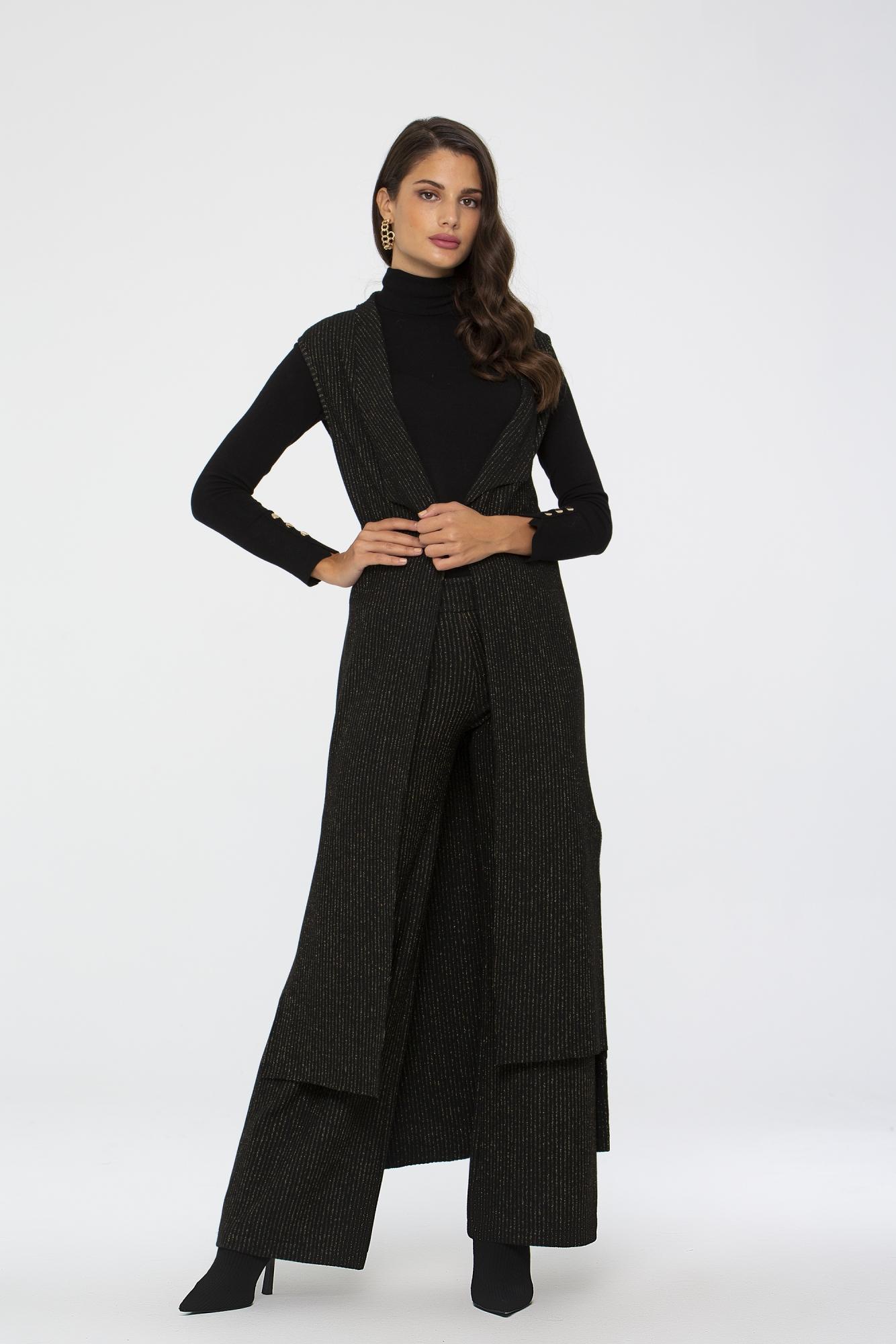 Elegant Takım Siyah-Gold 9032W19