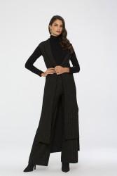 Elegant Takım Siyah-Gold 9032W19 - Thumbnail