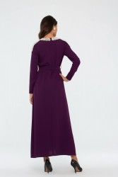 Enda Elbise Mürdüm 3028W19 - Thumbnail