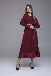 Epısode Elbise Bordo 3239w21 - Thumbnail