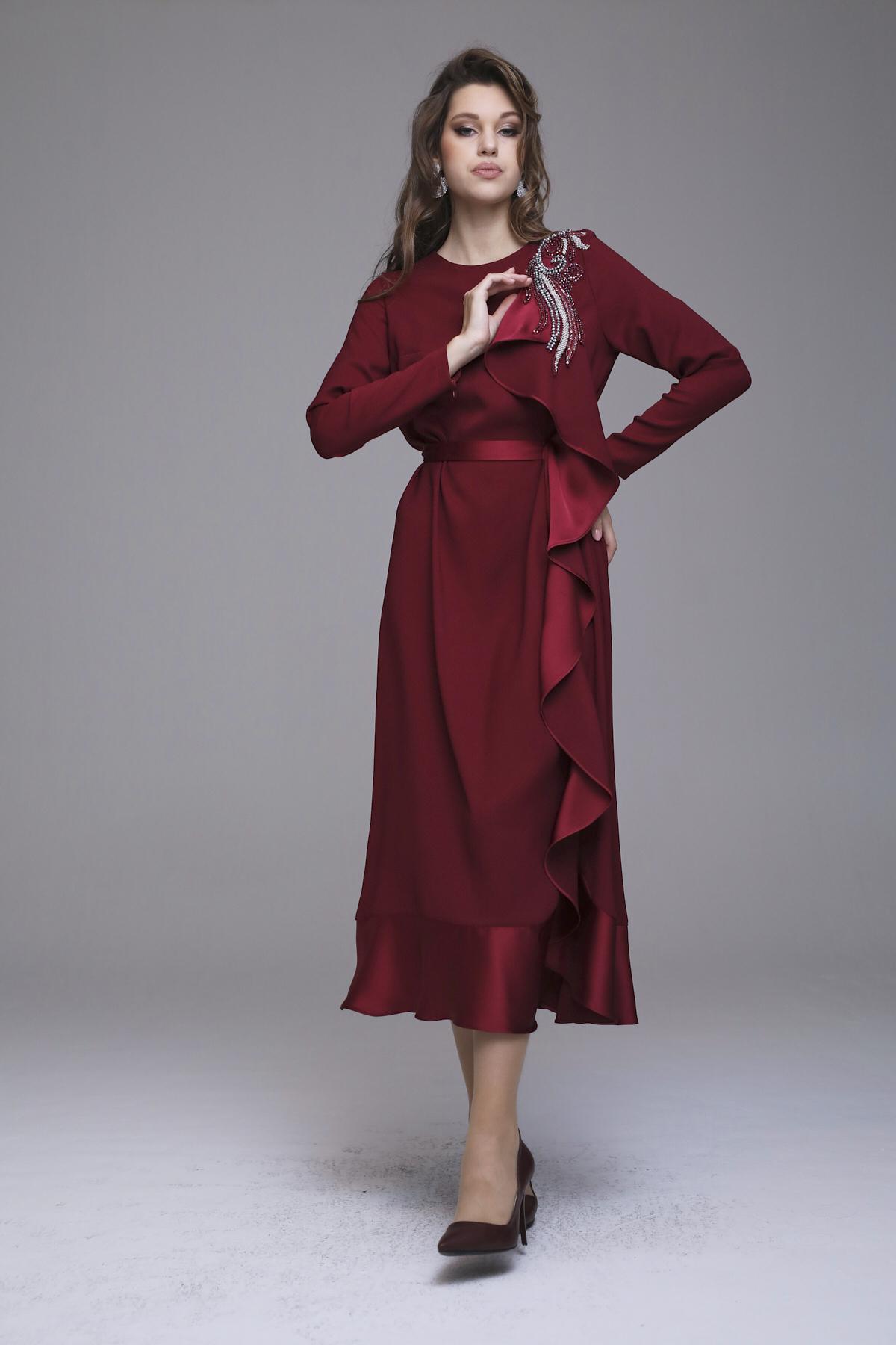 Epısode Elbise Bordo 3239w21