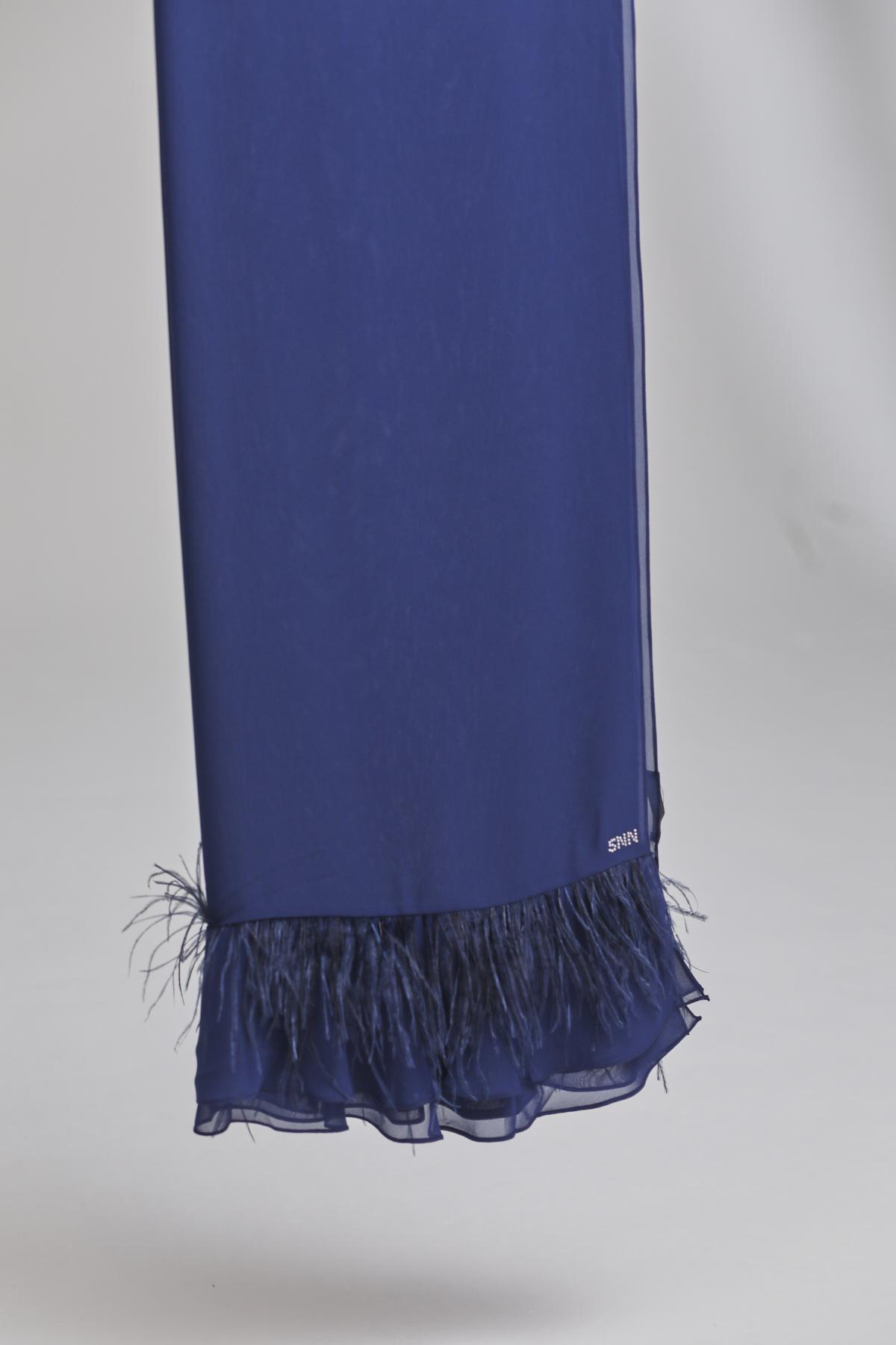Flame Şal G.Mavi 1005w21