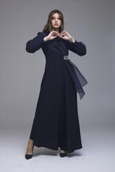 Legend Elbise Lacivert 3234w21 - Thumbnail