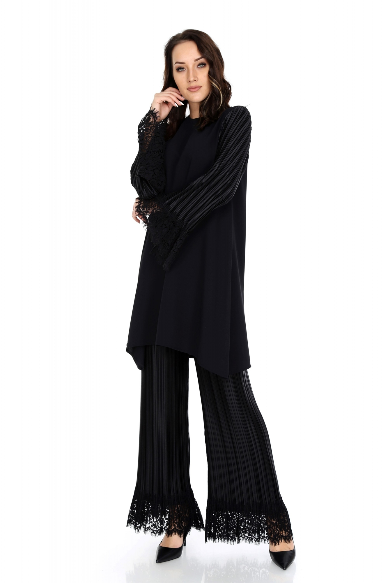 Leyal Pantolon Siyah 5004W9