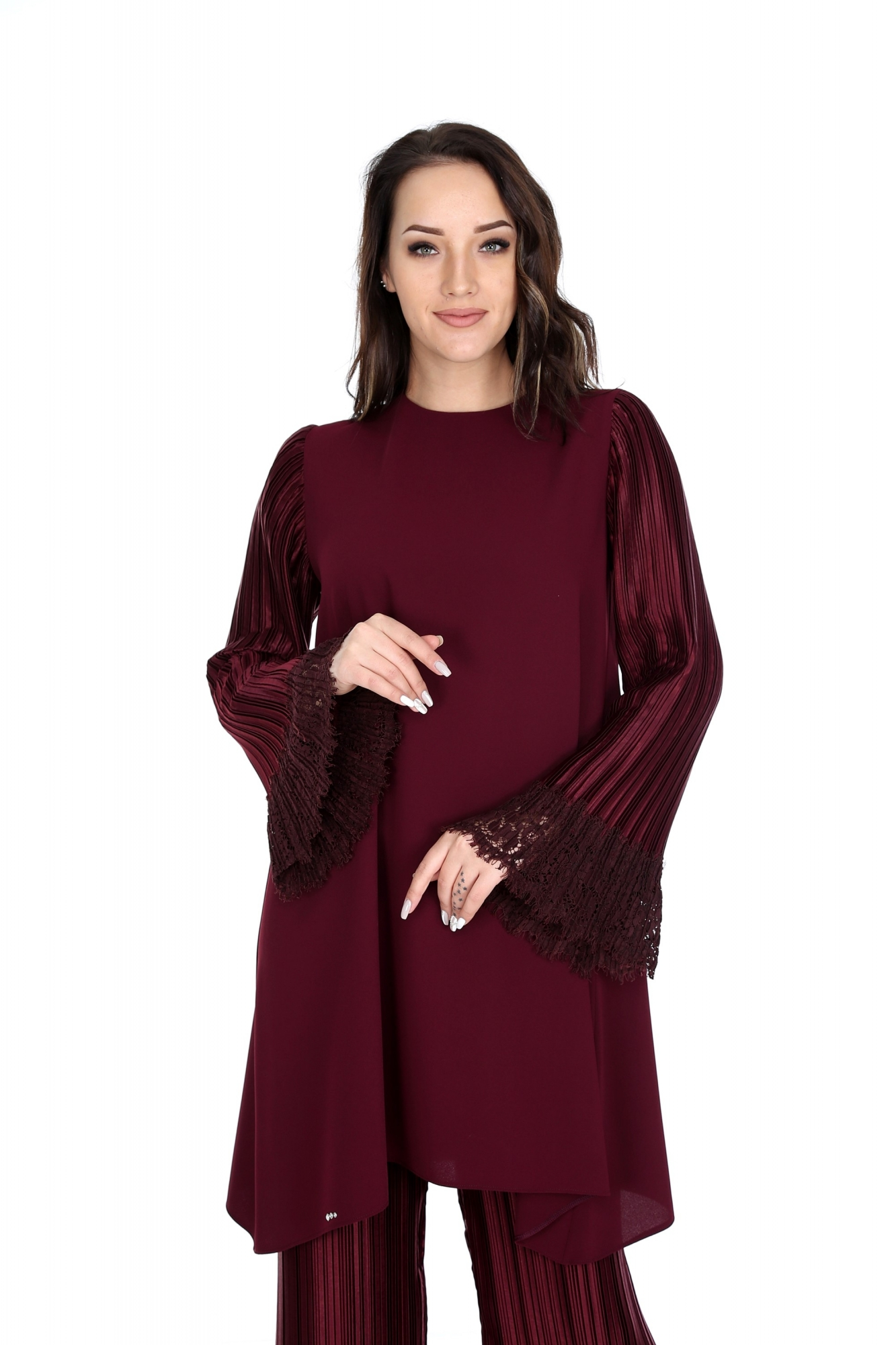 Leyuze Tunik Bordo 2016W19