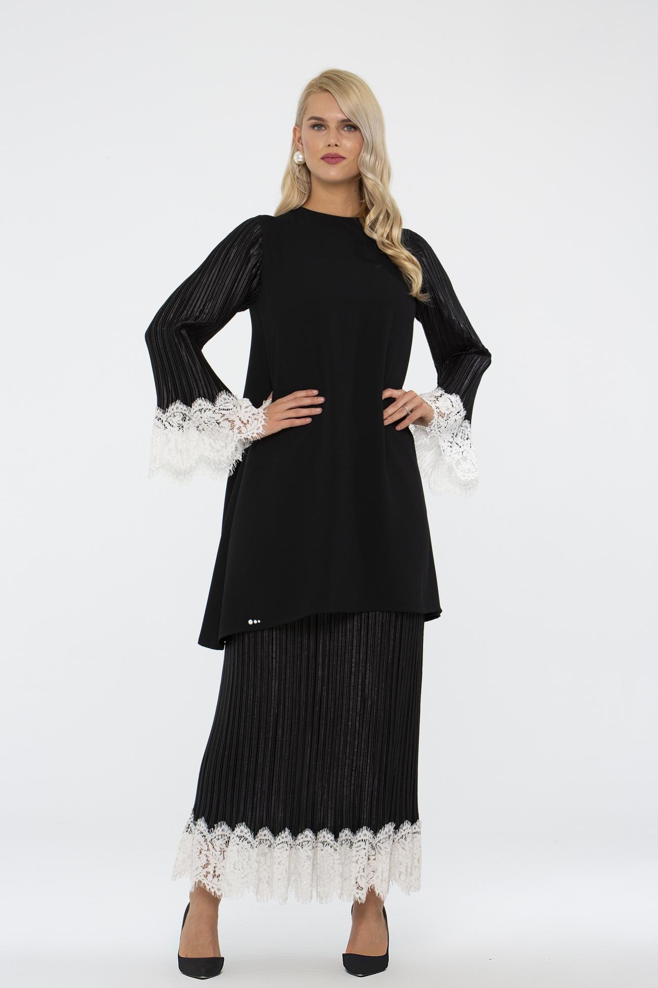 Leyuze Tunik Siyah-Beyaz 2016W19