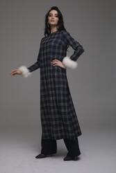 Lola Elbise Lacivert 3257w21 - Thumbnail