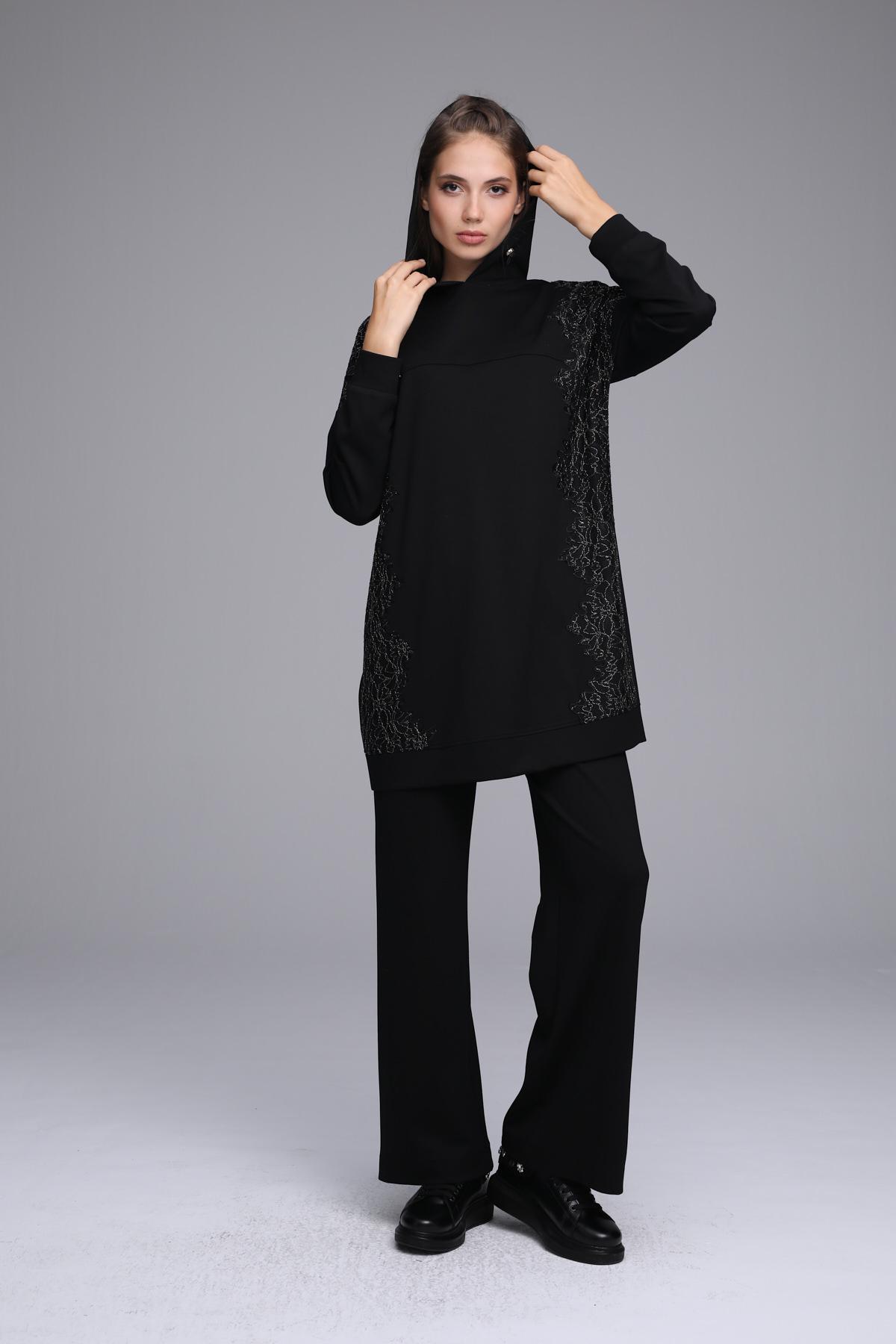 Mabella Eşofman Takım Siyah 22107w21