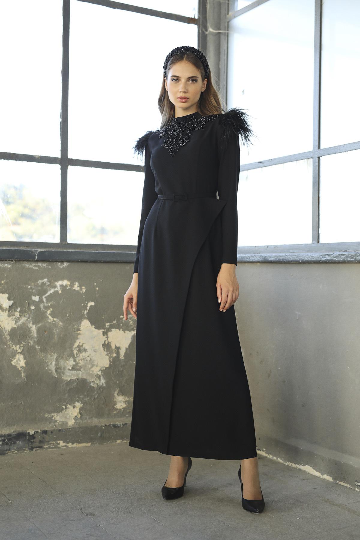 Magıc Elbise Siyah 3241w21