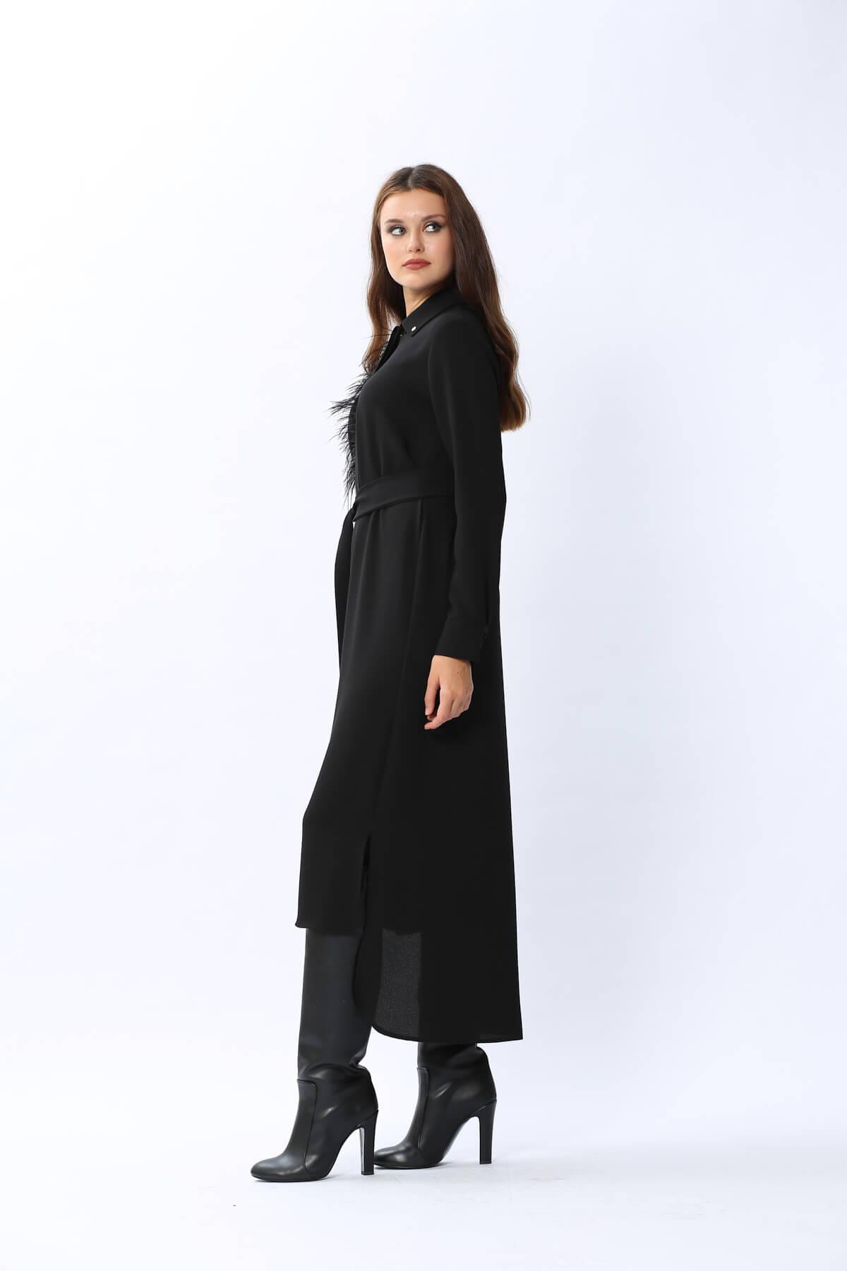 New Mia Gömlek Siyah 2205w21