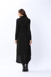 New Mia Gömlek Siyah 2205w21 - Thumbnail