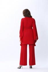 New Angelique Ceket Kırmızı 4130w20 - Thumbnail