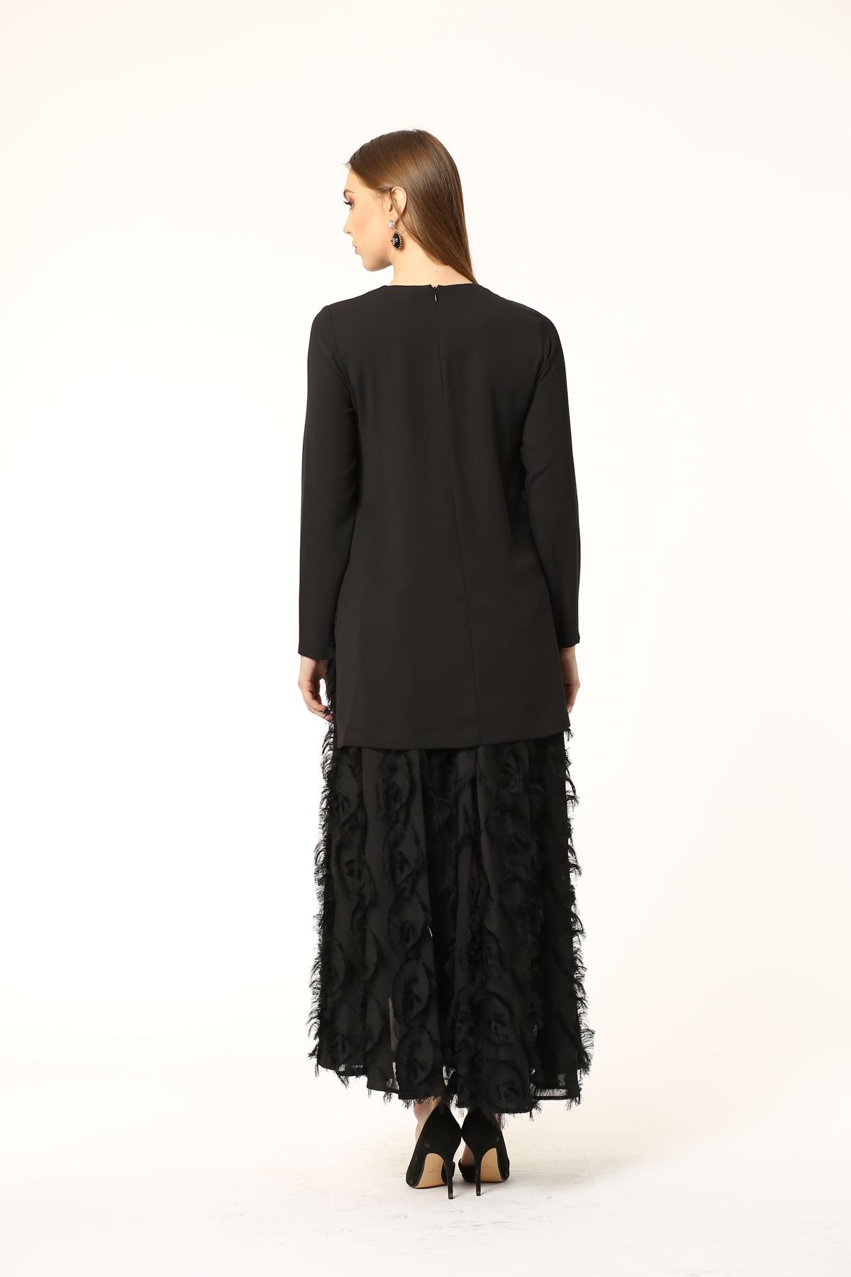 New Folto Bluz Siyah 2122w20