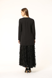 New Folto Bluz Siyah 2122w20 - Thumbnail