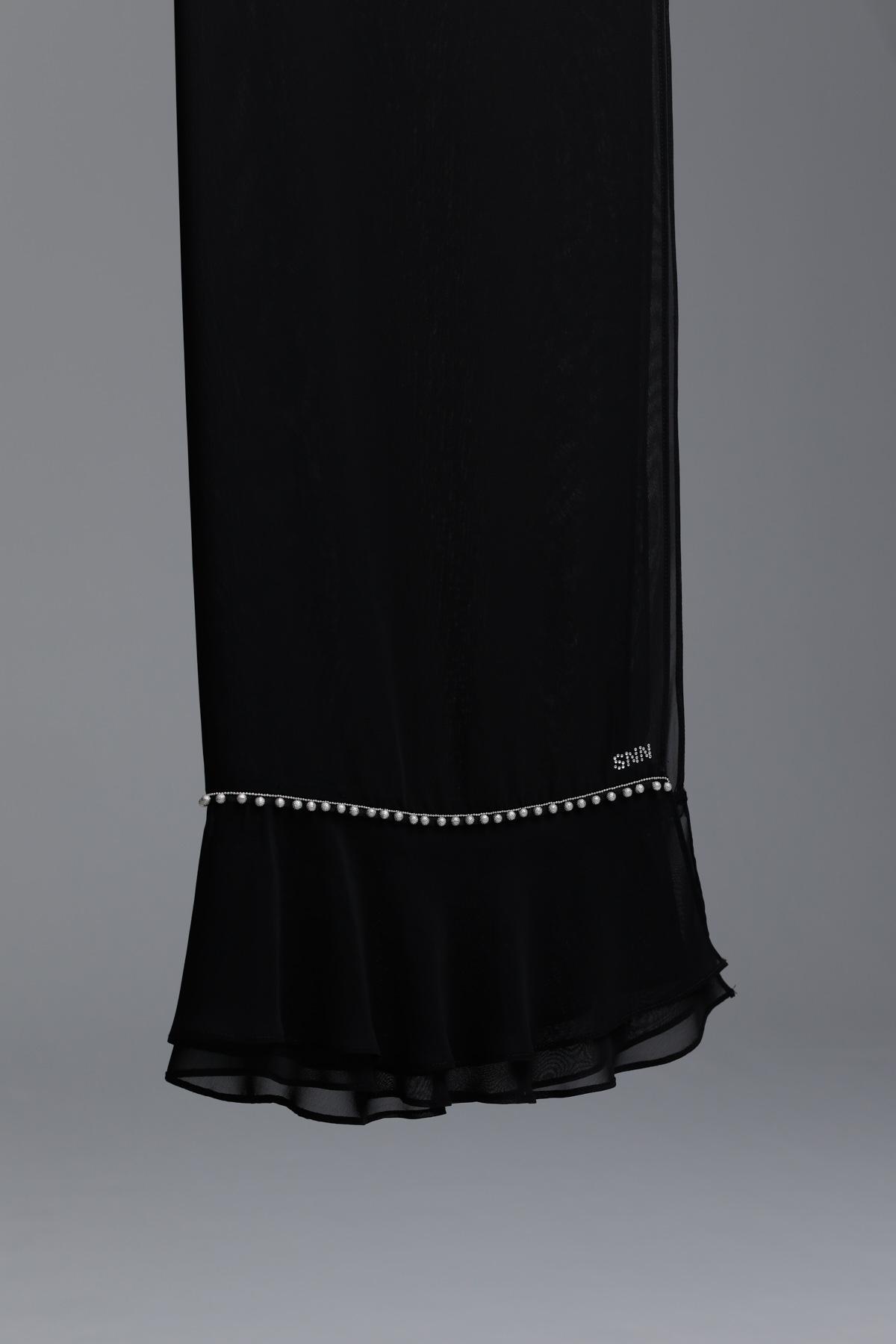 New Hemdem Şal Siyah 1002w21