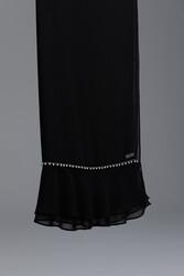 New Hemdem Şal Siyah 1002w21 - Thumbnail