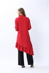 Nooh Tunik Kırmızı 2104w20 - Thumbnail