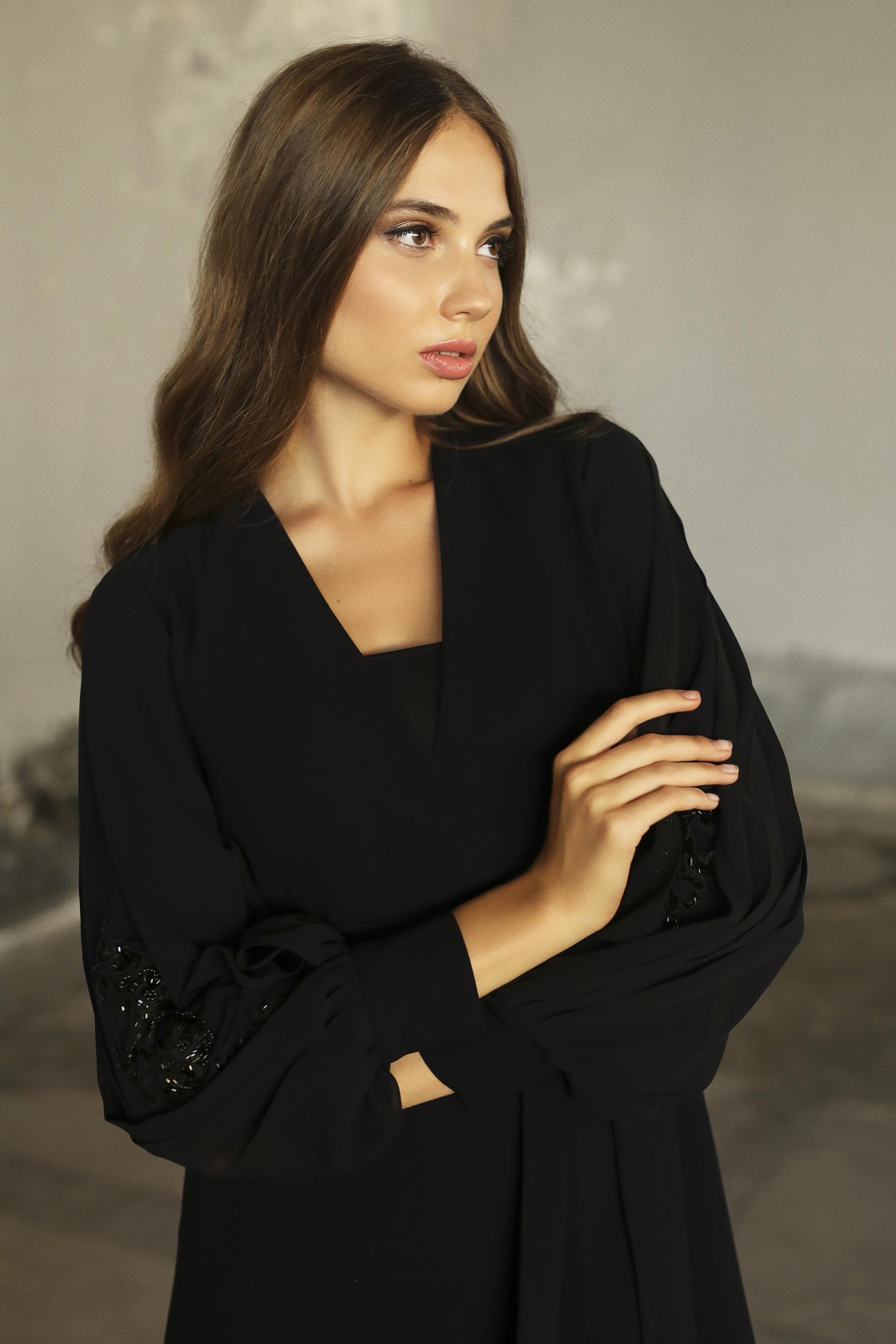 Plisado Ceket Siyah 4213w21