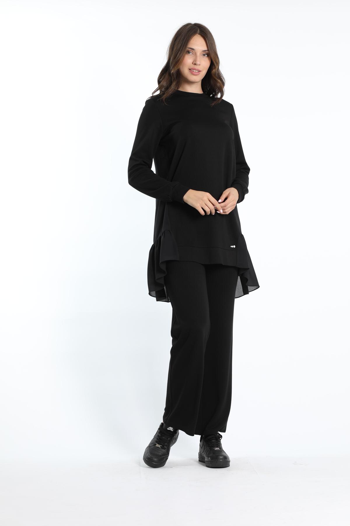 Rena Eşofman Takımı Siyah-Siyah 22101s20