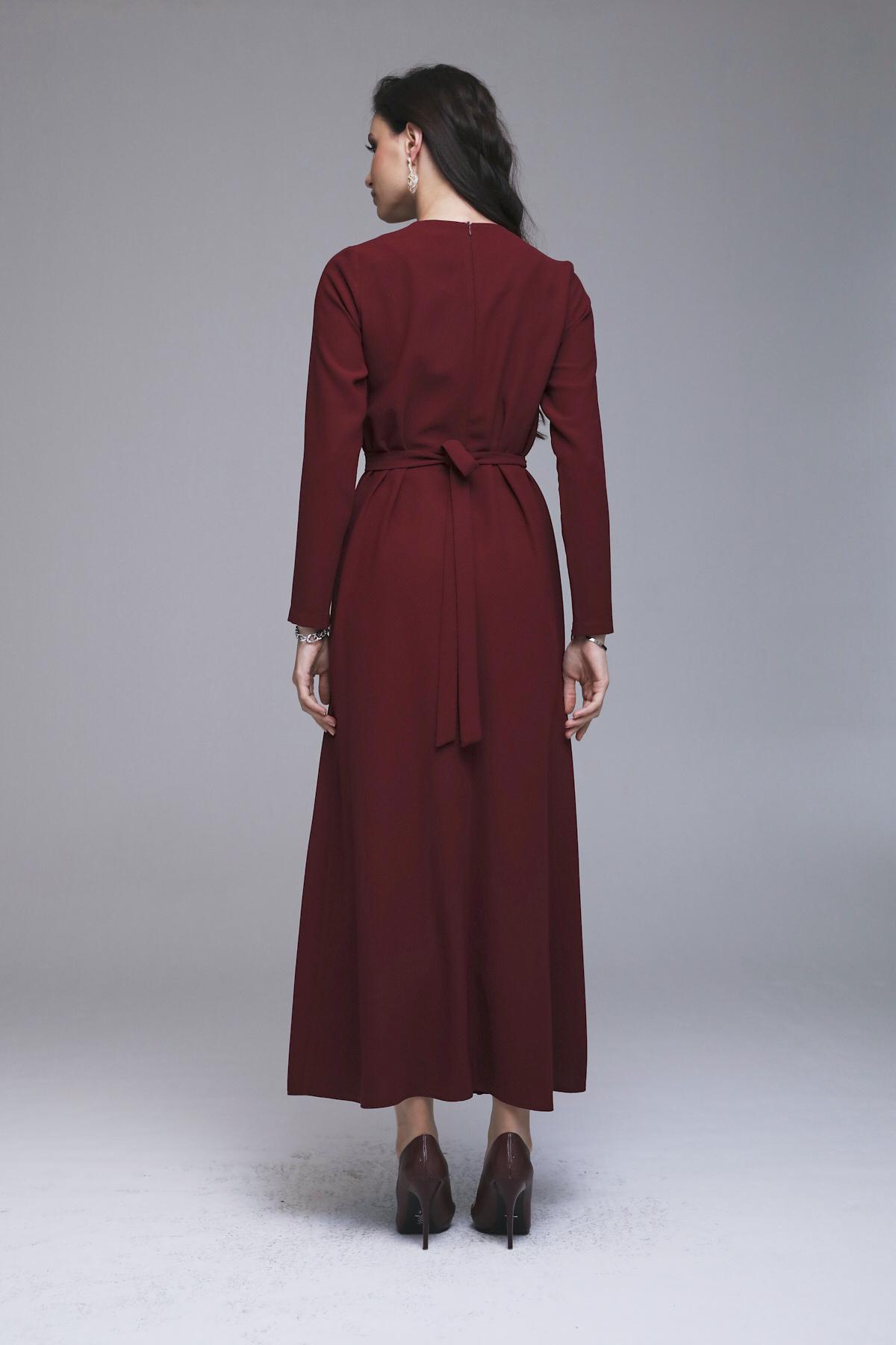 Selecta Elbise Bordo 3224w21
