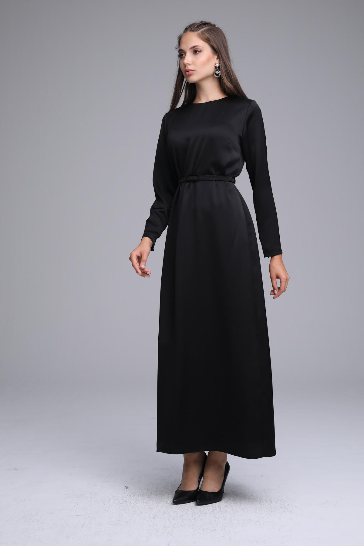 Senna Elbise Siyah 3245w21