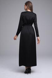 Senna Elbise Siyah 3245w21 - Thumbnail