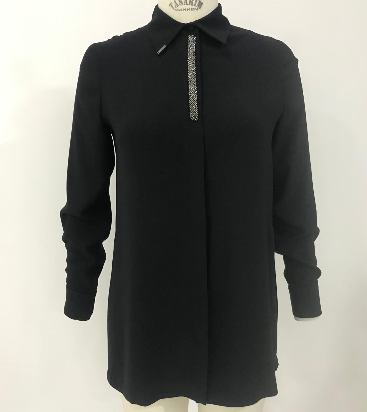 Sılver Gömlek Siyah 2212w21