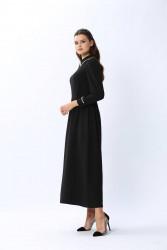 Star Elbise Siyah 3140w20 - Thumbnail