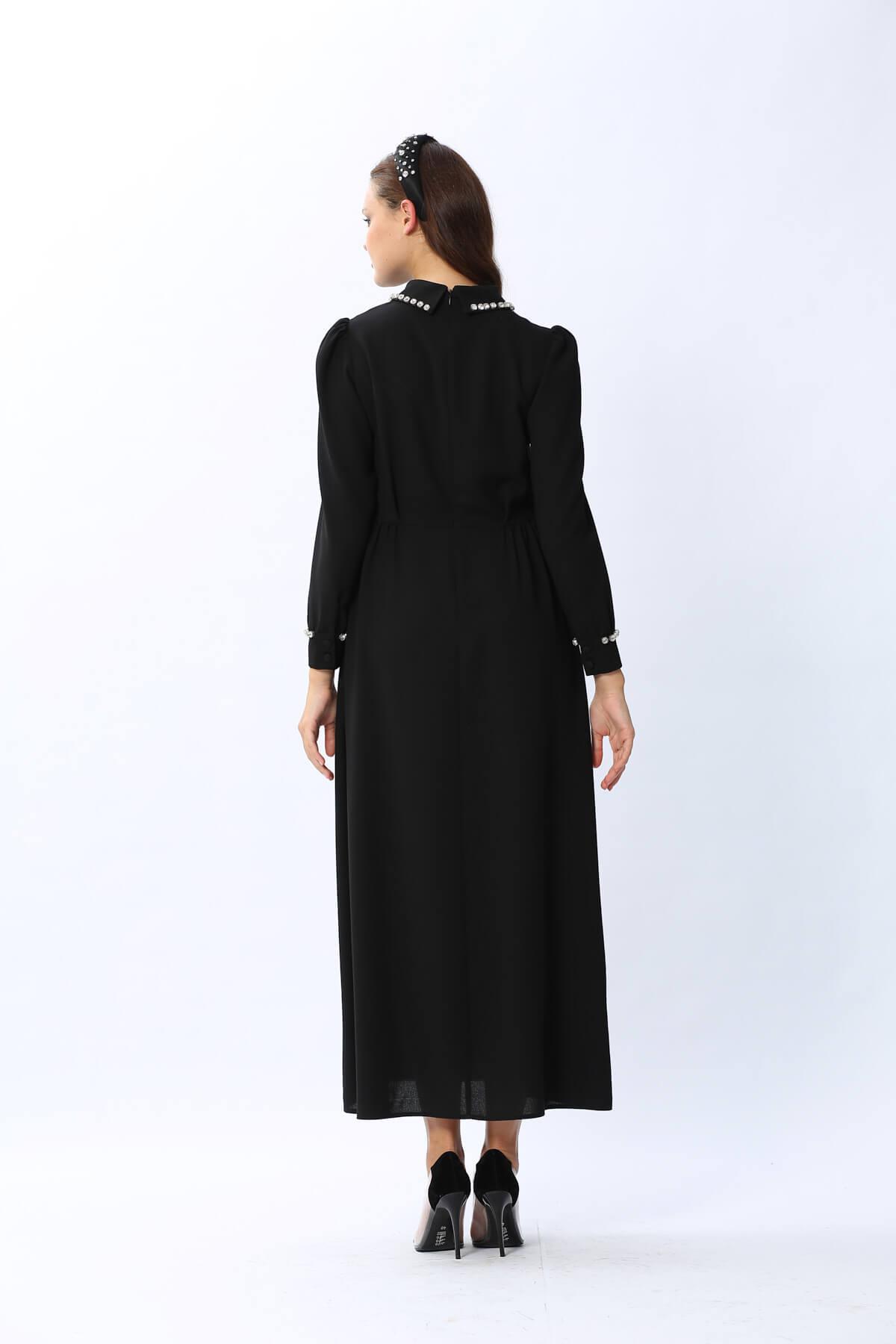 Star Elbise Siyah 3140w20
