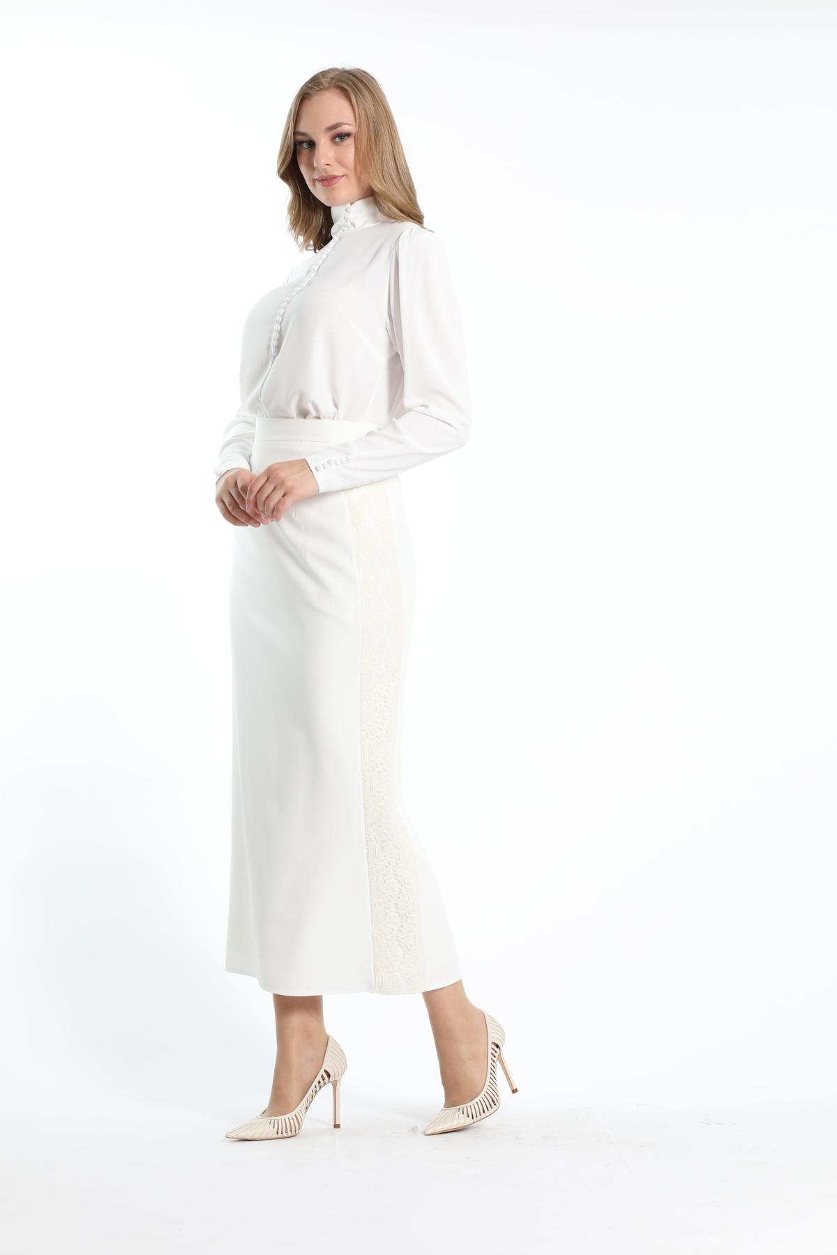 Trend Bluz Beyaz 2229s20