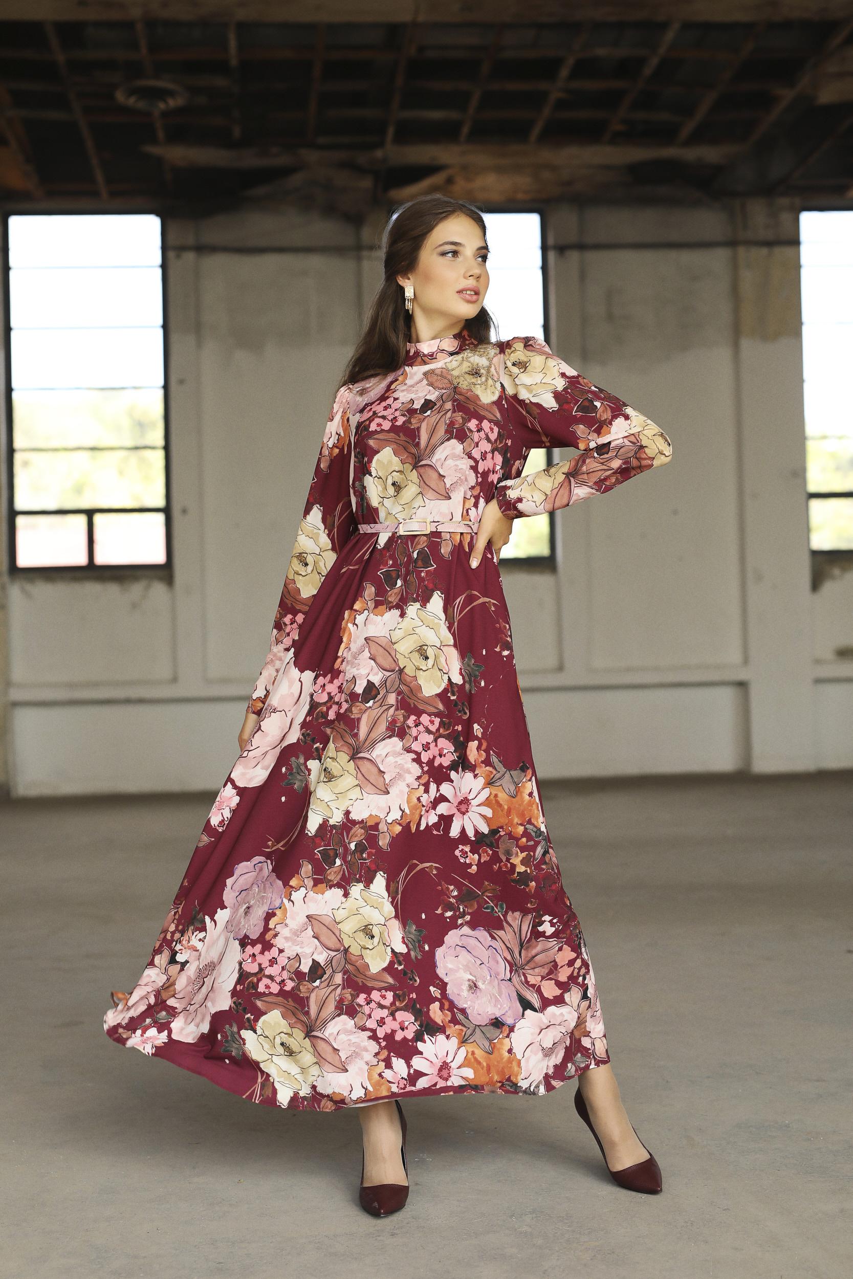 Winds Elbise Bordo 3244w21